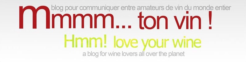 Mmmm... ton vin!