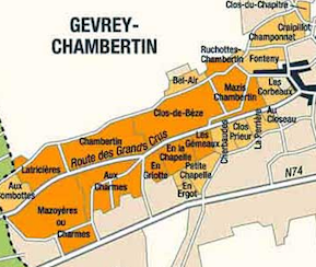 plan Gevrey-Chambertin