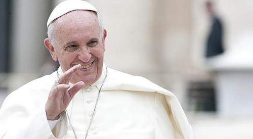 POPE FRANCIS SAYS WINE IS A NECESSITY