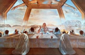 La Bible et l'Église interdisent-elles toute consommation d'alcool ? Sacrement-Cene-Salvador-Dali-300x194