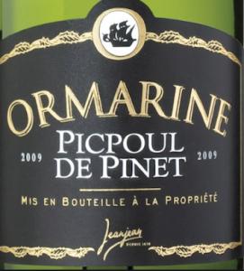 Picpoul de Pinet Ormarine