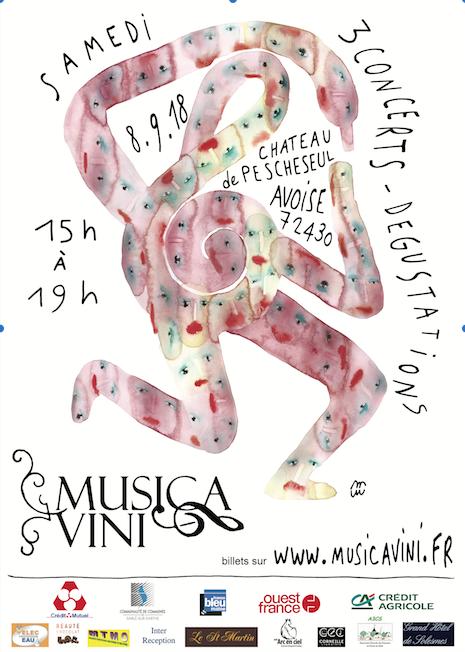 Affiche Musica Vini