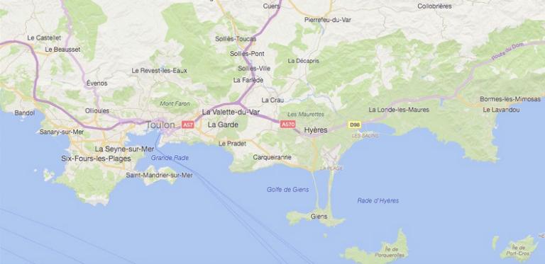 Le-territoire-de-La-Londe-à-Bandol