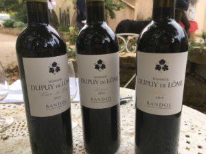 bouteilles Bandol