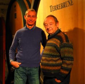 Georges Delille et son fils